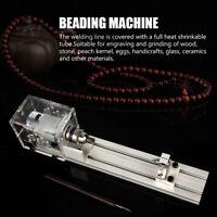 Mini Tour à Bois Bricolage Machine à Perles Miniature Bouddha Outil Pratique