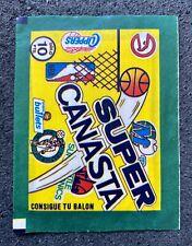 1986 Super Canasta NBA Basketball Sealed Pack Michael Jordan Olajuwon Rookie RC