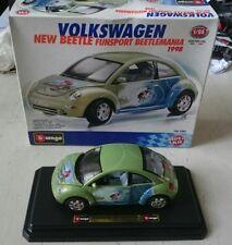 Burago 1/24 Scale Car Kit 5582 - 1998 Volkswagen Beetle Funsport Beetlemania