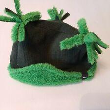 REI Co-op Bear Hug Tri Top Toddler Gray Green Hat Warm 2T-4T warm fuzzy outdoor