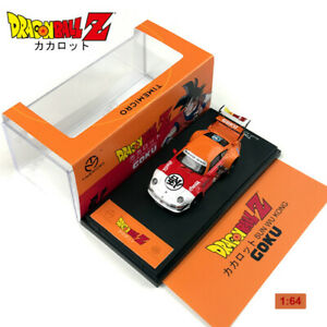 1:64 RWB 993 DragonBall Z GOKU Diecast Model Car Gifts of Kids