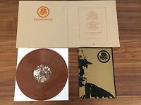 Death In June Brown Book Vinyl Brown LP Textured Cloth Sleeve Reissue Pylon LTD