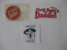 Cherry Poppin Daddies Swing Band Decals And Coaster ( Lot of 3 )