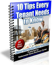 10 TIPS EVERY TENANT NEEDS TO KNOW PDF EBOOK FREE SHIPPING RESALE RIGHTS
