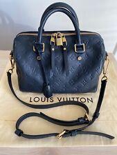 LOUIS VUITTON Speedy Bandoulière 25 Handbag Monogram Empreinte Leather RRP £1750