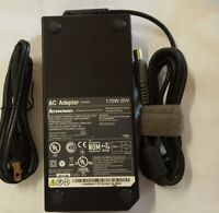 Genuine Lenovo 45N0113 45N0114 45N0117 Dock Charger AC Adapter Power Cord 170W