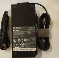 Genuine Lenovo 45N0113 45N0114 45N0117 Dock Charger AC Adapter Power Cord 170W