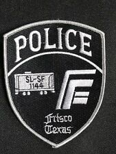 FRISCO TEXAS POLICE EMBROIDERY PATCH--B03