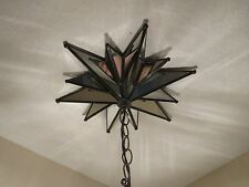 """Moravian  Large star mirror canopy 13 """"  - 12 points"""