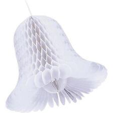 bianco a nido d' APE 27.9cm CARTA CAMPANELLE MATRIMONIO DECORAZIONE sede