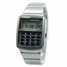 Casio Gents Digital Calculator Day Date Alarm Bracelet Sports Watch CA-506-1DF
