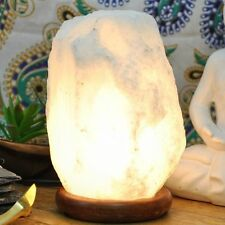 Premium Quality Pure White Himalayan Salt Lamp 3-5 kg with all fitting