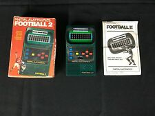 Mattel Electronics Football 2 1978 With Box & Instructions Tested Works Vintage