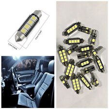 17X Car Interior Canbus White LED Light Kit Dome Map Reading License Plate Light