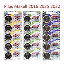 Pila Maxell CR2032 CR2025 CR2016 Pilas Alkalinas 3V Alta Duracion