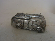Vintage German Paperweight Firefighter Car #CM