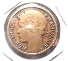 CIRCULATED 1931  2 FRANC FRENCH COIN.