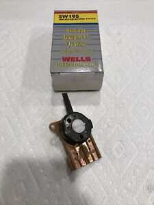 New Wells HVAC Blower Motor Switch 1977-84 Chevrolet Buick Oldsmobile 16015256