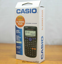 Casio Fx-350Es Plus Basic Calculator Genuine New Box package - Tracking provided