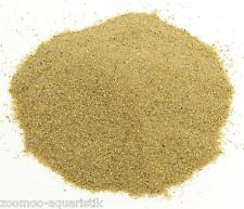 (0,63€/1kg) 25 kg Aquarium Sand Kies Bodengrund Farbe - beige - 0,2-0,6 mm