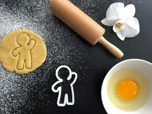 Ginger Bread Cookie Cutter 03 | Fondant Cake Decorating | UK Seller