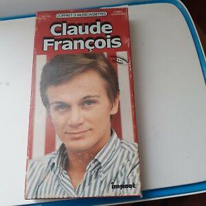 IMPACT COFFRET CLAUDE FRANCOIS 3 CASSETTES REF 7412005