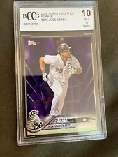 2018 Topps Jose Abreu #280 Purple Wave Chicago White Sox BCCG 10 Toys R Us Excl