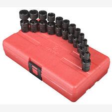 "Juegos de llave de tubo de taller Sunex 1/4"""