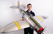 Giant Scale P-47D  Thunder Bolt  RC Model AIrplane Printed Plans