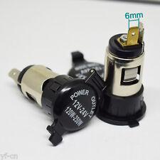 50pcs 12V-24V 120W-250W Car Cigarette Lighter Power Outlet Female Jack Socket