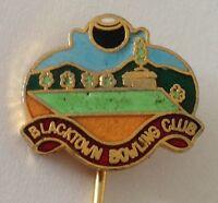 Blacktown Bowling Club Pin Badge Rare Vintage (D7)