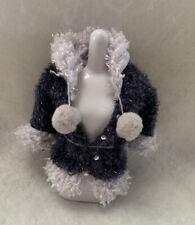 Girlz Girl Bratz Winter Time Wonderland Dana Doll Navy Blue Jacket Fur