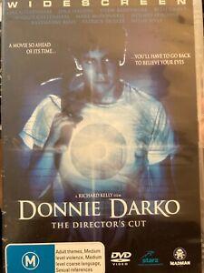Donnie Darko DVD HR3 2-disk Director's Cut Spooky, strangely moving. Good film