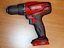 "CRAFTSMAN CORDLESS DRILL/DRIVER 125.DD20A LITHIUM ION 1/2"" CHUCK 20 VOLT BARE TO"
