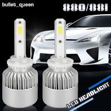 880 881 H27 1500W 225000LM LED Fog Bulbs DRL Driving Light Lamp Kit 6000K White