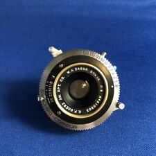 "Goerz Golden Dagor WA Wide Angle 3 5/8"" 92mm f8 Large Format Lens RARE"
