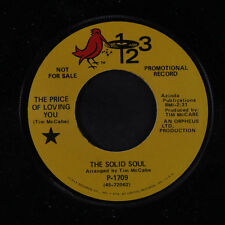 SOLID SOUL: The Price Of Loving You / I've Been Hurt 45 (dj) Funk