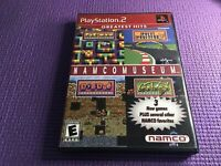 NAMCO MUSEUM PS2 GreatestHits PacMan Dig Doug Galaga Multi Player Manual Include