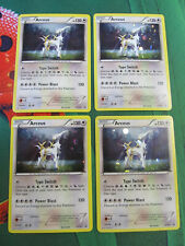 Pokemon - Arceus x4 - XY Magearna Mythical Collection Promo Holo 4x - NM - EN