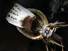 Smudge Feather Fan Native Pagan Goddess Sage Reiki Metaphysical Gift
