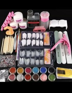 Full Professional Acrylic Nail Kit