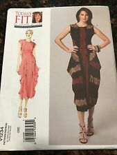 Vogue Sewing Pattern V1234 1234 Misses Dress Uncut OSZ All Sizes Included NEW