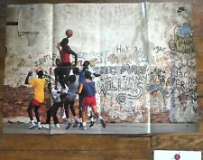 Vintage Original Michael Jordan Air Jordan Club NIKE Playground Poster 24x36 in