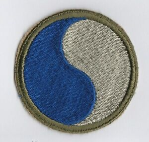 WWII - 29th INFANTRY DIVISION (Original patch) # 2