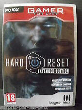 HARD RESET Extended Edition PC GAME NEW IN BLISTER PACKS