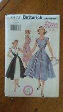 Butterick Retro 1952 Pattern #6173, Misses' Dress Sz 14-16-18