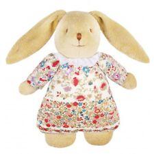 trousselier Kuschelhase mit Spieluhr und Kleid mit Blumenmotiv - 25 cm - UN JOUR