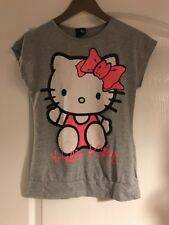 George Grey Hello Kitty Short Sleeved T Shirt Age 12 -13 Years