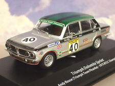 ATLAS 1/43 TRIUMPH TEAM PIRANHA 40 DOLOMITE SPRINT BTCC CHAMPION ANDY ROUSE 1975