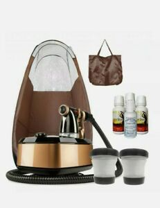 Maximist Allure Xena TNT with Brown Pop Up Tent and Tampa Bay Tan Solution & Mit